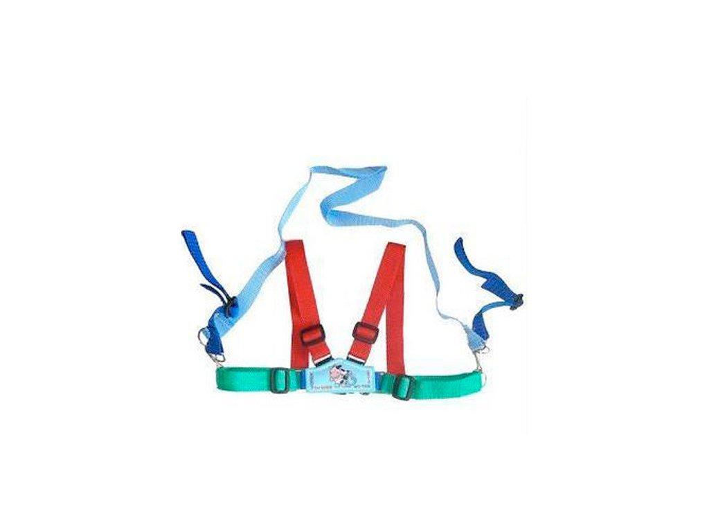 Womar Zaffiro Dětské kšíry červeno modré