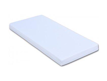 Matrace PUR pěna - molitan 140x70 bílá