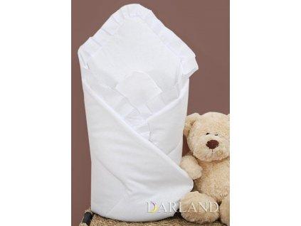 Zavinovačka s výztuží  bílá bez volánku