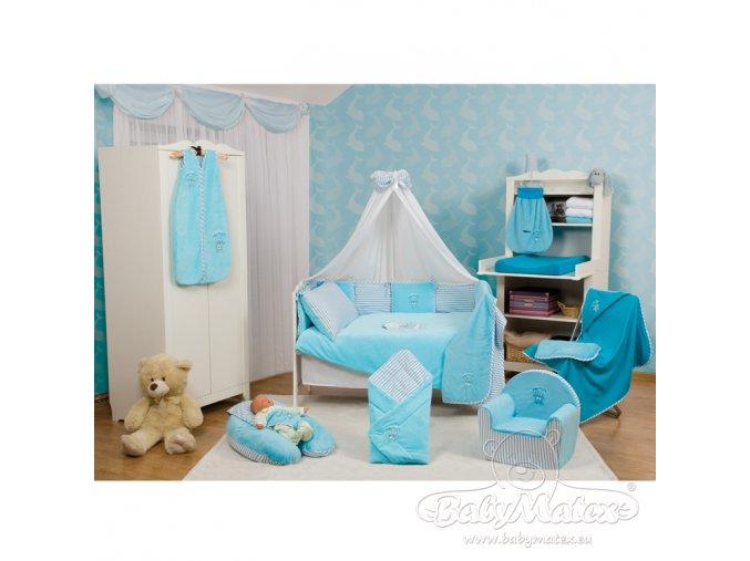 Baby Matex 3-dílné povlečení  Best Friend modré