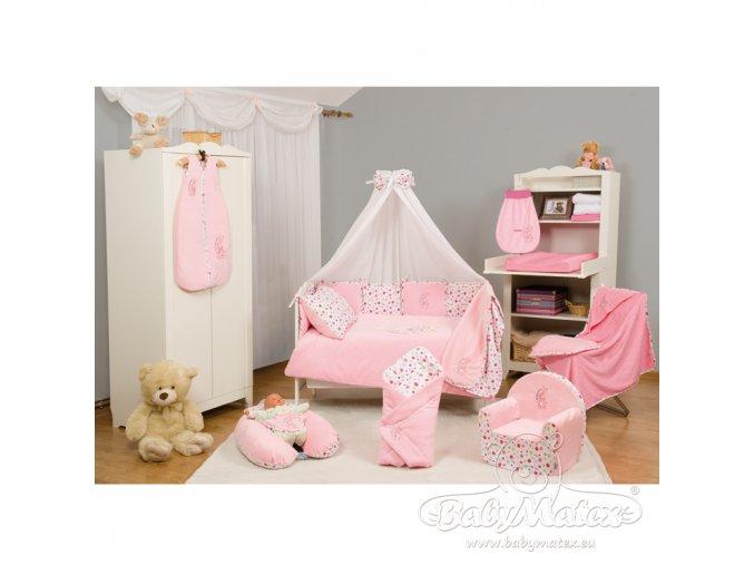 Baby Matex 3-dílné povlečení  Best Friend růžové