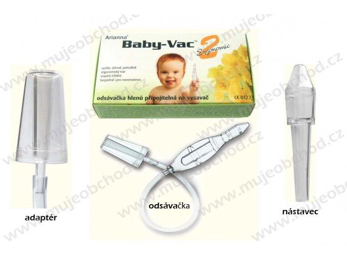 Arianna Baby-Vac 2 s čisticím kartáčkem odsávačka hlenů