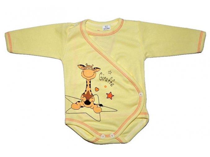 halux body giraffe zlute