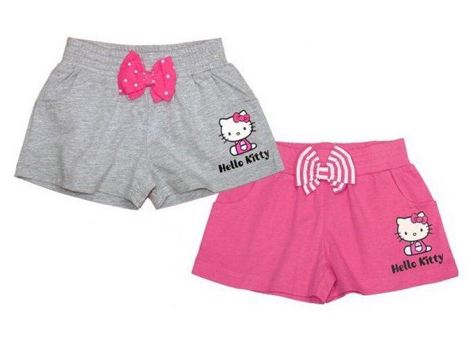 Bavlněné kraťasy Hello Kitty šedé 122/128Bavlněné kraťasy Hello Kitty šedé 122/128