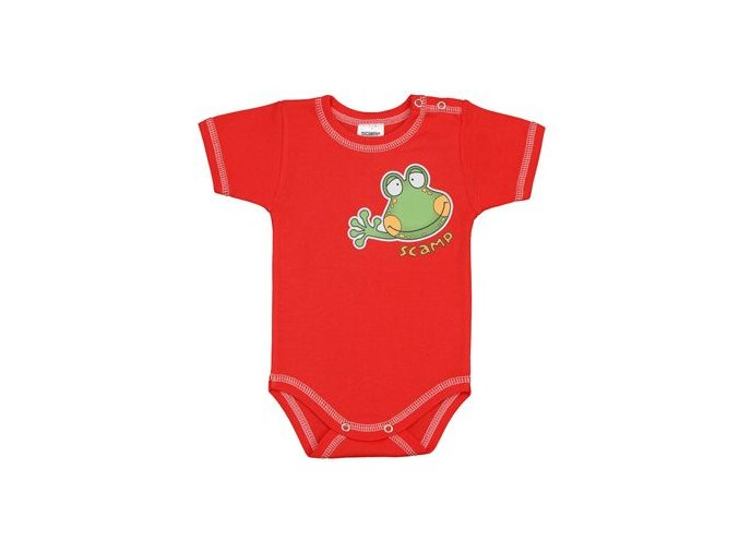 Body žabka červené PRINCE OLIVER - SCAMP vel.56