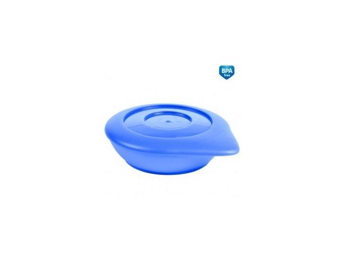 Canpol Babies 31/399 Misky s víčkem BASIC 2ks modré