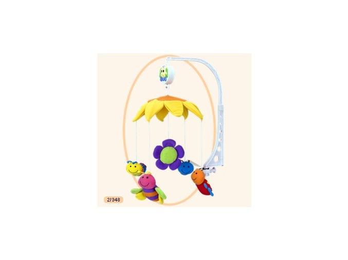 Canpol Babies Dětský kolotoč plyšový nad postýlku včelky 2/348