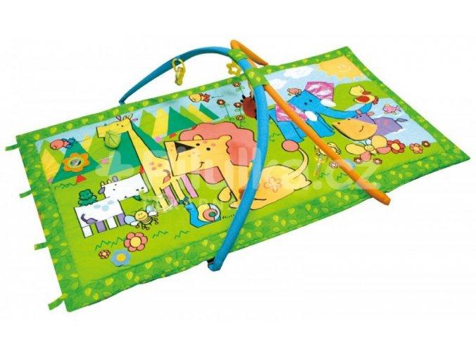 Canpol Babies Multifunkční hrací deka Lev a žirafa 2/308