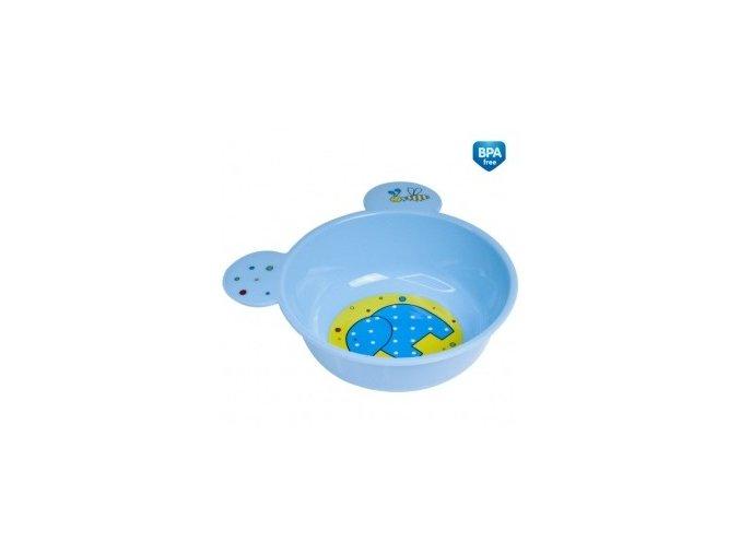 Canpol Babies Plastová miska s ouškama 4/415 modrá