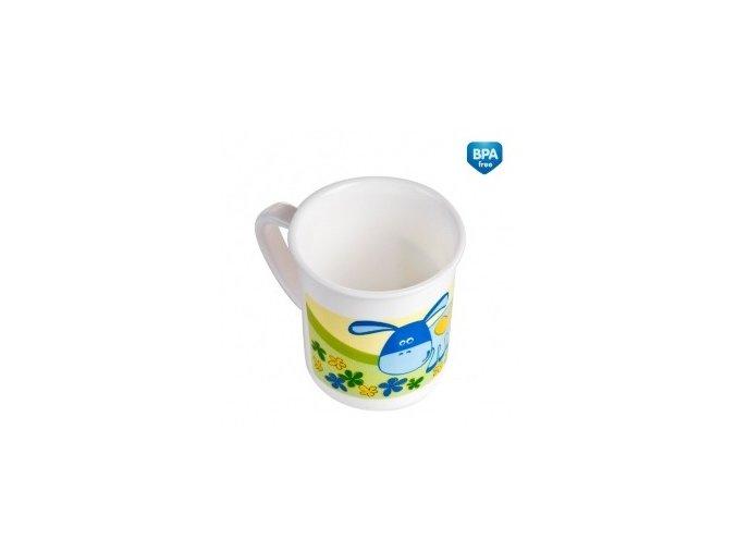 Canpol Babies Plastový hrníček 4/413 modrá kravička