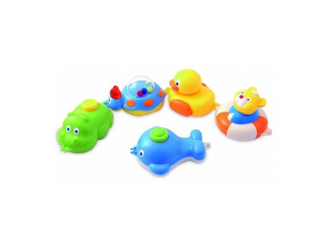 Canpol Babies Zvířátka do vody – vláček