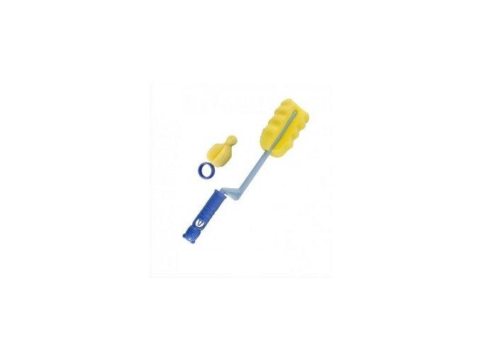 Canpol Rotační pěnový kartáč na čištění láhví s dudlíků 7/401