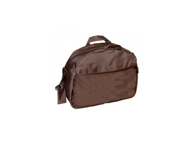 Emitex přebalovací taška Zita Emitex se zipem hnědá