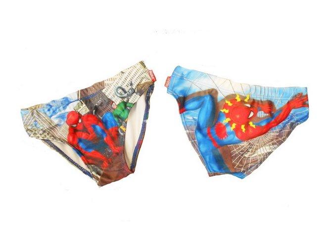 Chlapecké plavky Spiderman 3 roky