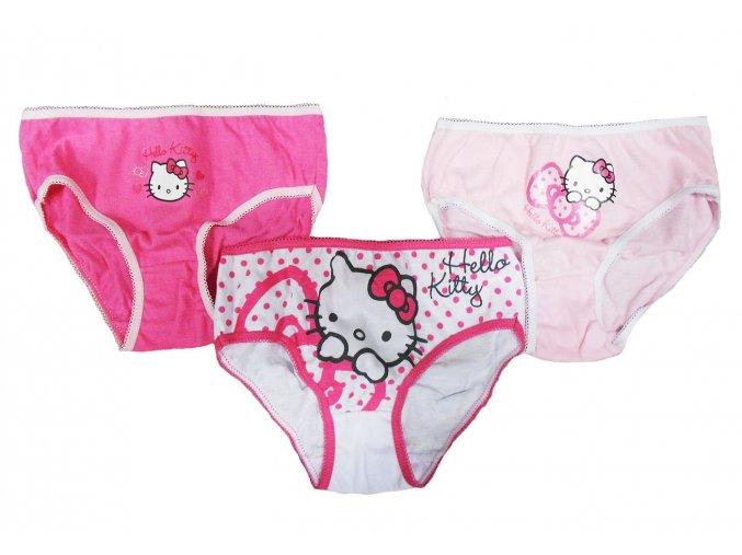Kalhotky Hello Kitty new 3pack 4/5 let