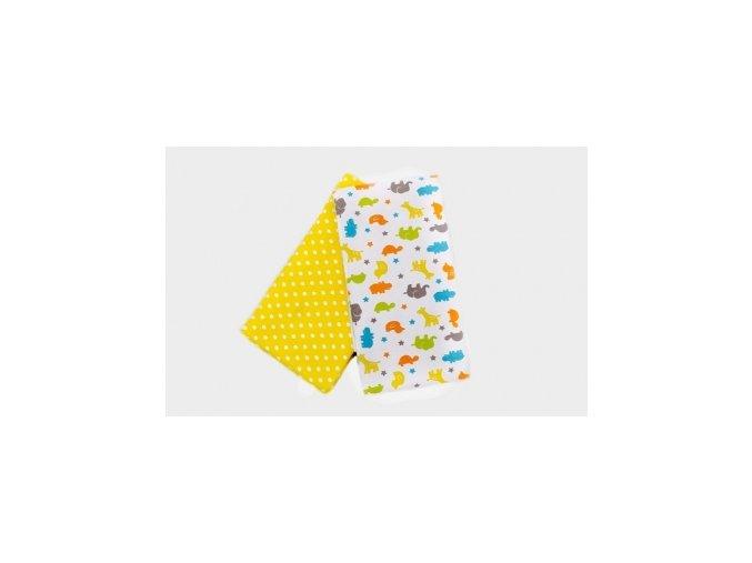 Látkové osušky Žluté žirafy