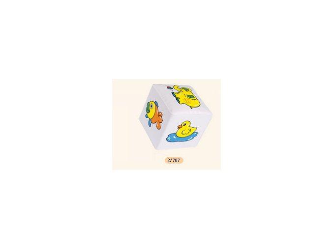 Měkká kostka chrastící Canpol Babies