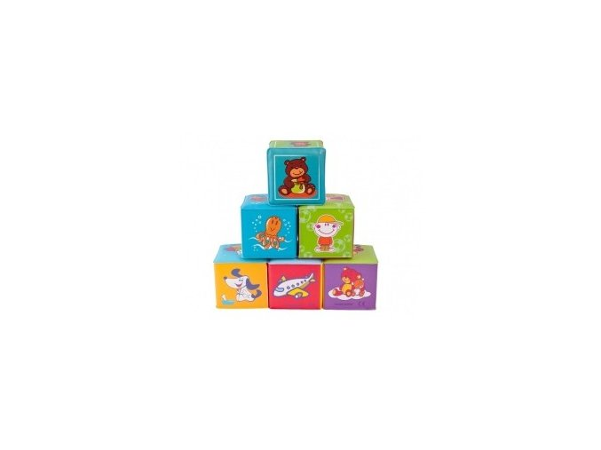 Měkké kostky barevné Canpol Babies