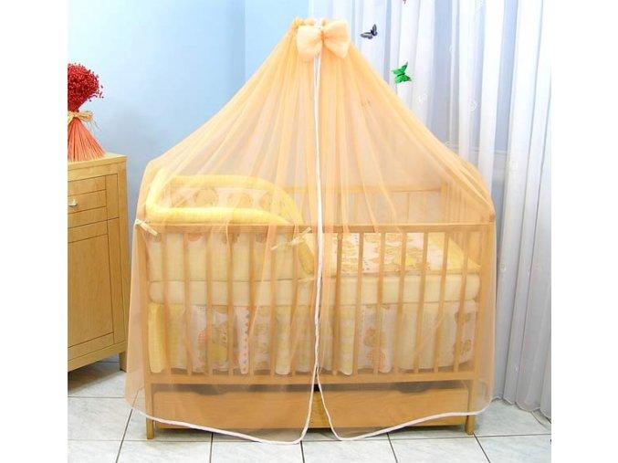 Darland moskytiéra na postýlku oranžová