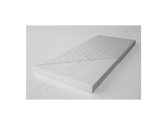 Pěnová matrace bílá 160x80