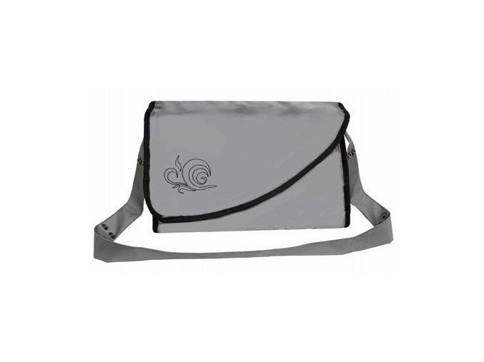 Přebalovací taška Kate s kapsami tmavě šedá Emitex