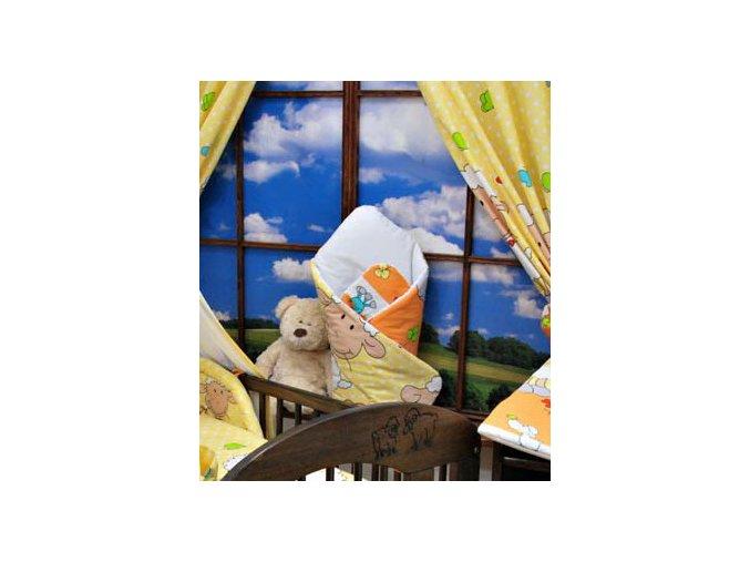 Zavinovačka Veselé ovečky oranžové Darland