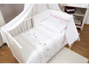 Baby Matex 3-dílné povlečení  Bianco Cat