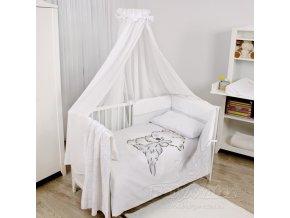 Baby Matex 4-dílné povlečení  Wool Bianco Collection
