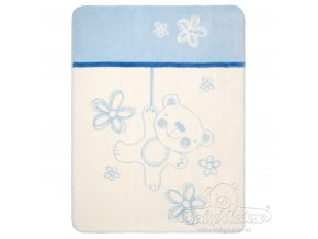 Baby Matex Deka Teddy Collection modrá
