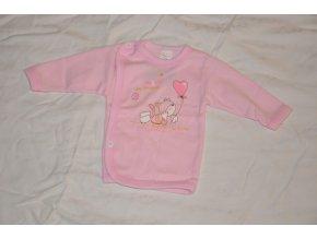 Bavlněná košilka Hello my friends kočka růžová vel.56