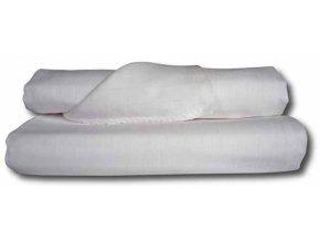 Bavlněné tetra osušky 90 x 100 - Bílá - 2 ks - LTZ Libštát