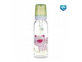Canpol Babies Láhev s potiskem 250 ml bez BPA 11/841
