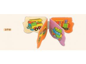 Canpol Babies Měkká knížka pískací - tvar letadla