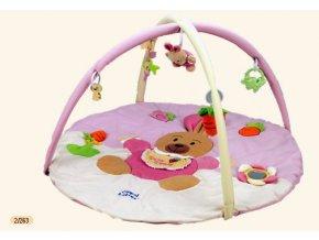 Canpol Babies Veselá hrací deka KRÁLÍČEK