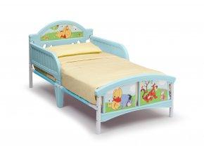 Dětská postel Medvídek Pú 140x70