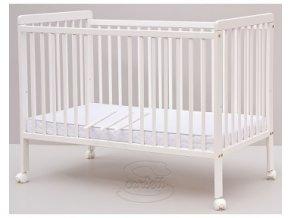 Dětská postýlka Scarlett Dominik (borovice) - bílá