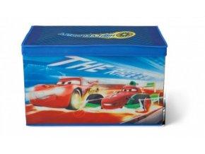 Dětský látkový box na hračky Cars