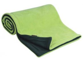 Emitex Deka fleece 70x100 cm Antracit + limetka