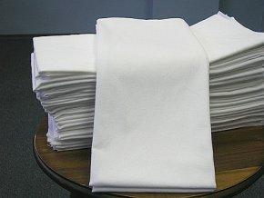 Flanelové plenky - bílé Babymatex