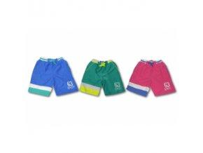 Chlapecké plavecké šortky 128 růžové