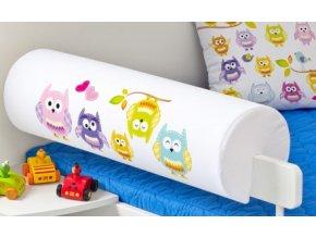 Chránič na postel Sovičky