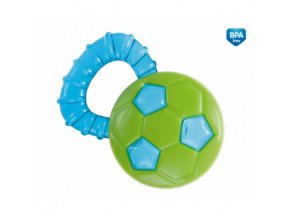 Chrastítko s chladícím kousátkem míč
