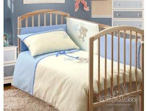 Baby Matex 2-dílné povlečení Teddy Collection modré