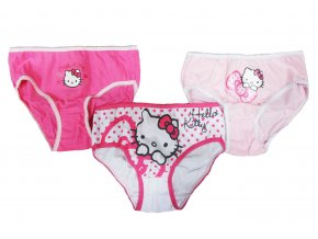 Kalhotky Hello Kitty new 3pack 4/5 let