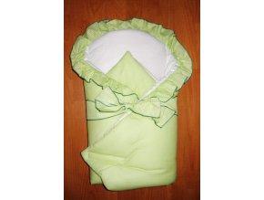 Elan Luxusní zavinovačka s mašlí zelená
