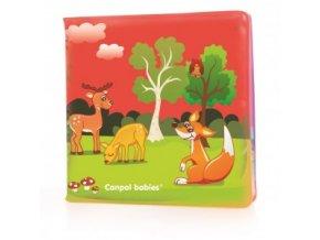 Měkká knížka pískací zvířátka 803 Canpol Babies