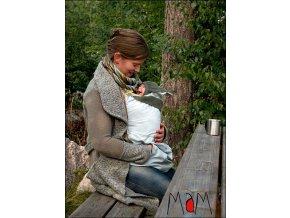 Ochranná kapsa na dítě v šátku nebo klokance celoroční