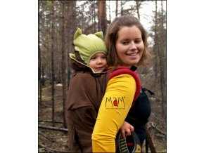 Ochranná kapsa na dítě v šátku nebo klokance zimní