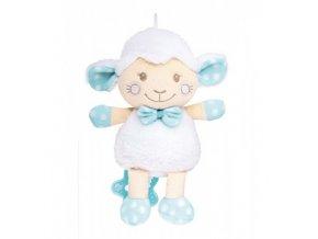 Plyšová hrající skříňka ovečka modrá Canpol Babies