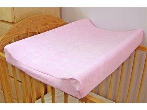 Potah na přebalovací pult růžový Darland